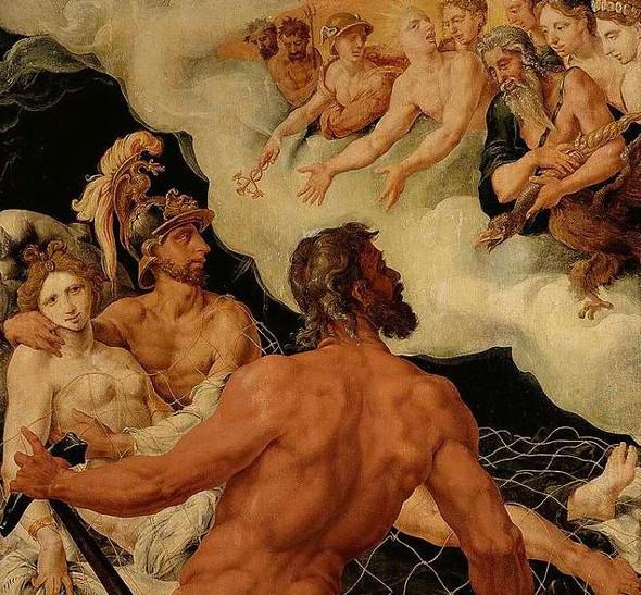 [ H ] Jacob van Heemskerk - Aphrodite, Ares and Hephaestus ...