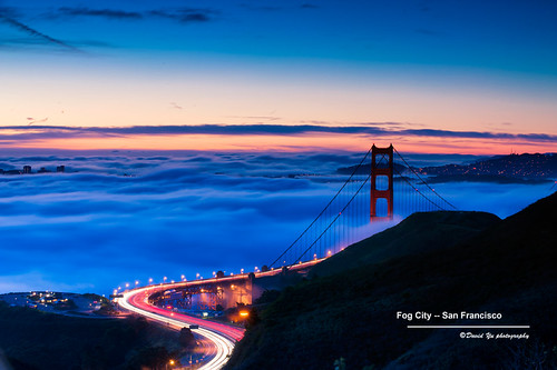 sanfrancisco california city usa fog san francisco sfist