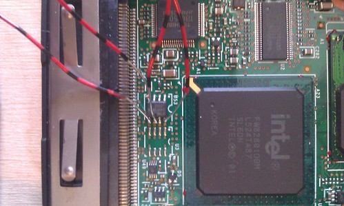 Recovering IBM Thinkpad T42 BIOS password with AVR-Ada and
