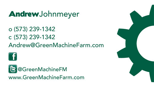 GreenMachine Business Card