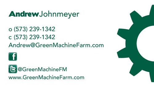GreenMachine Business Card