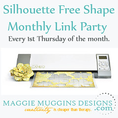 Silhoeutte Free Shape of the Week Link Party