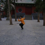 SHIFU KANISHKA SHARMA TRAINING IN SHAOIN WIND MAGIC STICK IN SHAOLIN TEMPLE CHINA WWW.SHAOLININDIA.COM Shaolin Kung Fu India