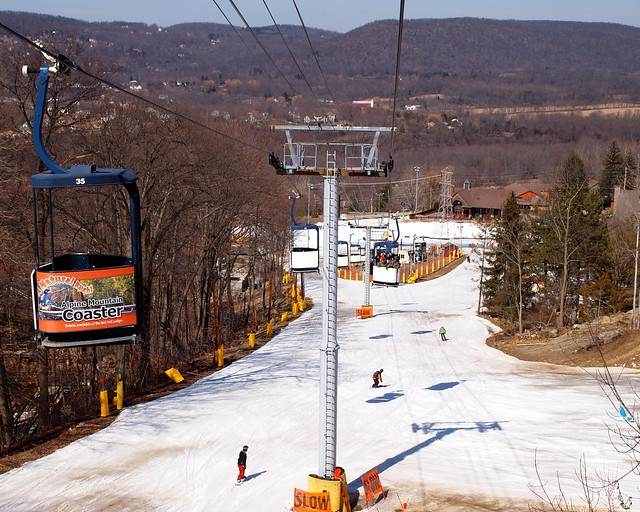 The cabriolet gondola mountain creek ski resort vernon new jersey