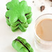 Shamrock Macarons with Baileys Chocolate Ganache