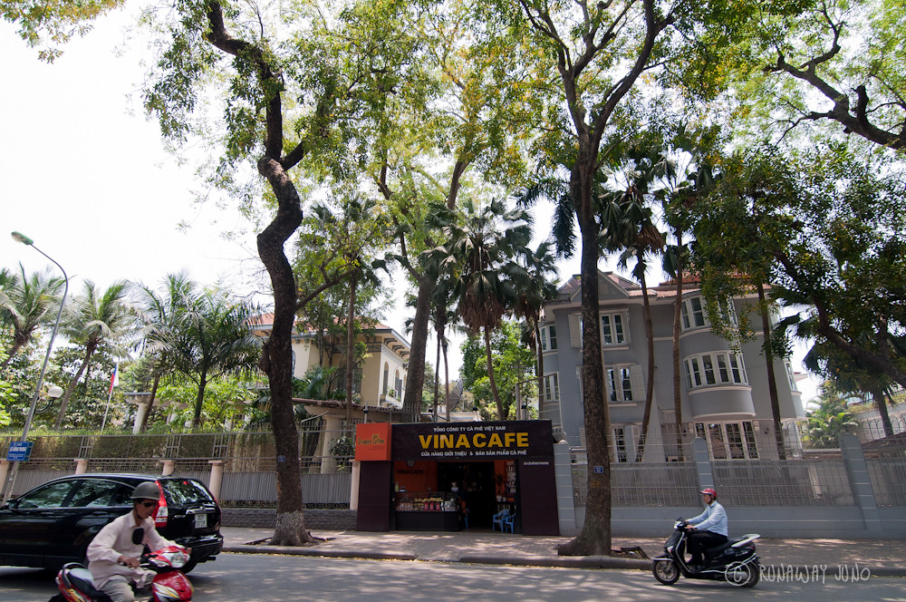 Coffeeshop Hanoi Vietnam