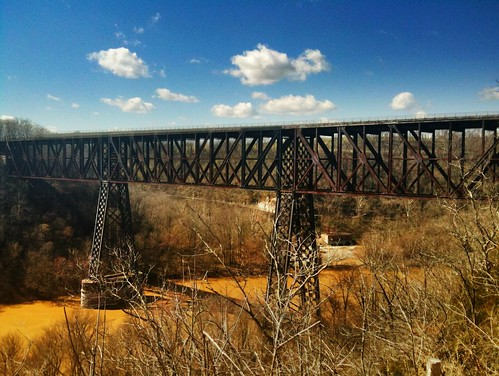 high bridge kentucky - once the world's highest rail bridge
