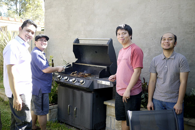 Weekend BBQ Party with Friends