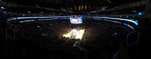 lakers game @ staples center