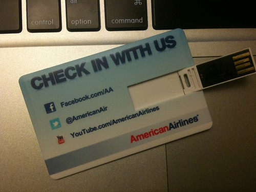 American Airlines USB Card
