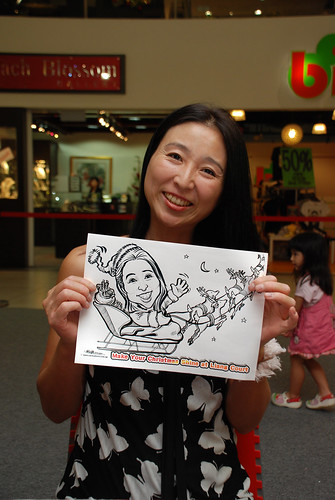 "caricature live sketching for ""Make Your Christmas Shine at Liang Court"" - 11"