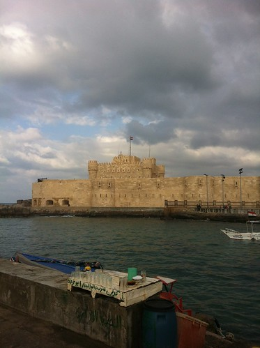 Citadel of Qaitbey in Alexandria, Egypt