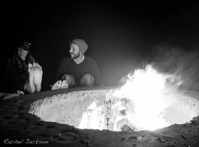 dockweiler beach bonfire
