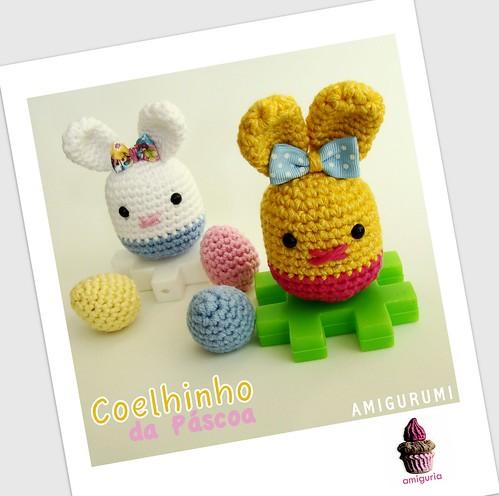 Coelhinho Amigurumi by Amiguria