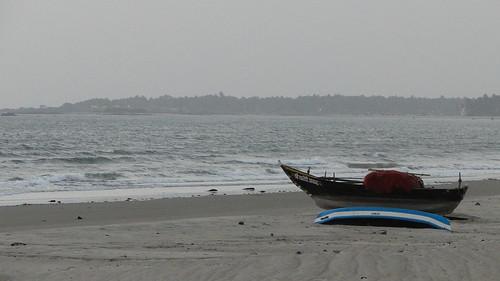 Dusk at Tarkarli beach