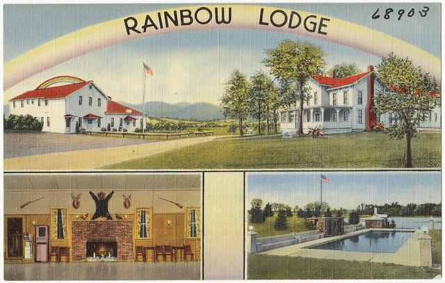 Header of rainbow lodge