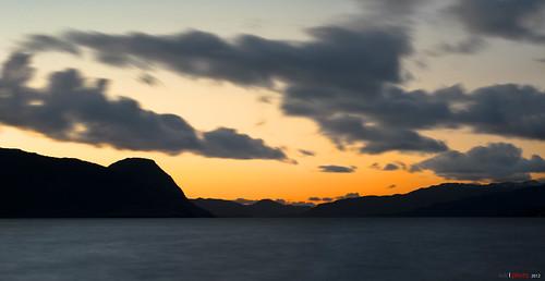 sunset sea norway clouds fjord ombo påske solnedgang hjelmeland ryfylke norwegianfjord norwegianfjords hjelmelandsfjorden bentingeask rogalanmd