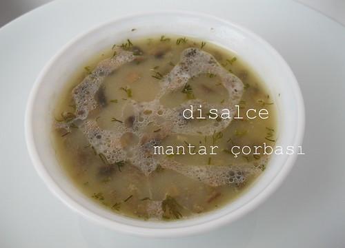 mantar çorbası