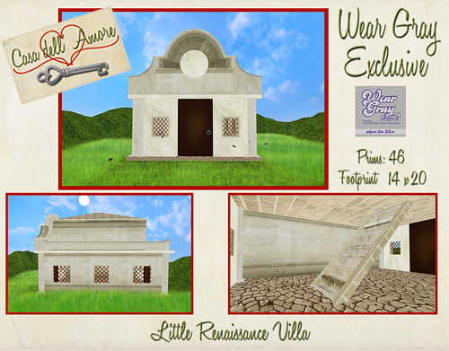 Little Renaissance Villa- Wear Gray Exclusive