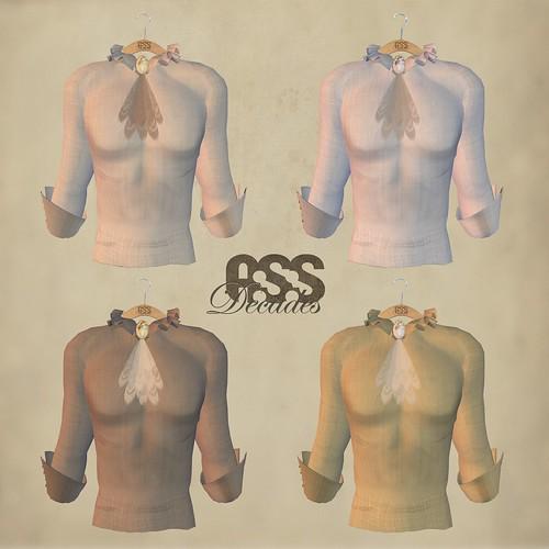 A:S:S Decades - Armando shirts