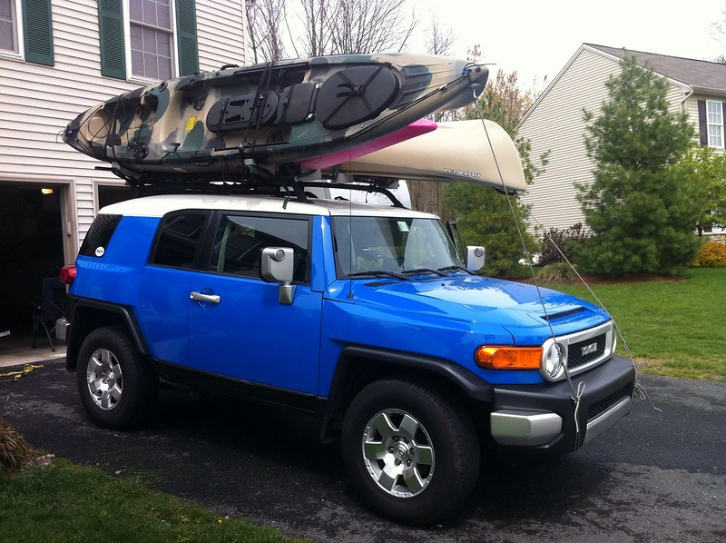 Home Made Kayak Roof Rack System Page 2 Toyota Fj