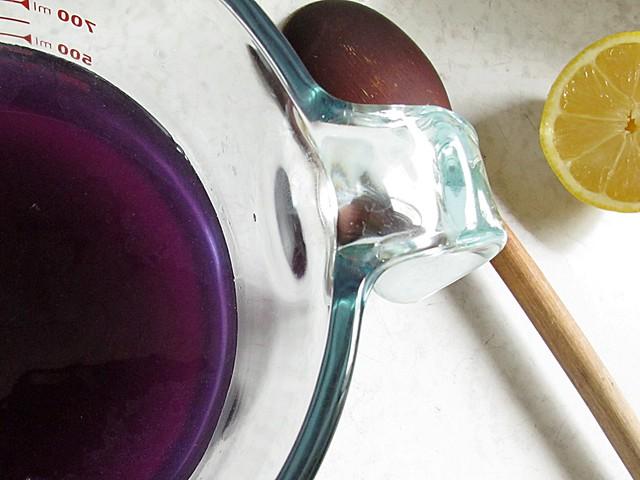 violet water