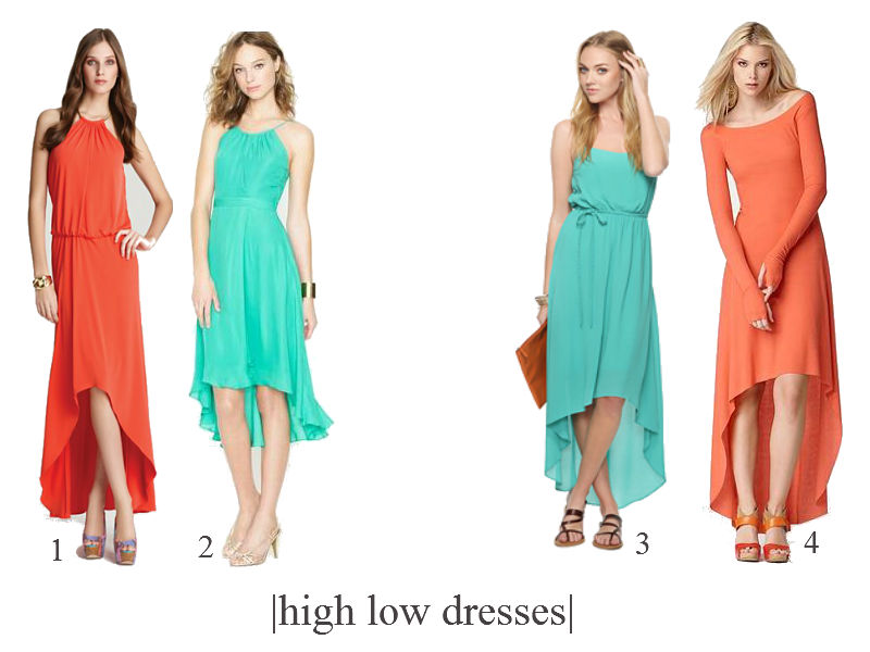 cheap high-low prom dresses