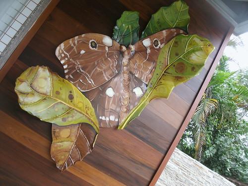 mariposa em metal recortado by argina seixas