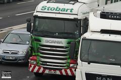 Scania R440 6x4 Tractor - PE11 LMO - Gillian Ann - Green & Red - 2011 - Eddie Stobart - M1 J10 Luton - Steven Gray - IMG_4313