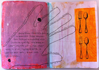 page from Fork and Spoon Sketchbook by SBB