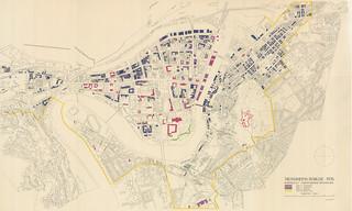 Kart over verneverdige bygninger / Trondheims bybilde (1976)
