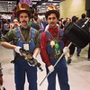 Mario and Luigi as they were meant to be. #steampunk #eccc