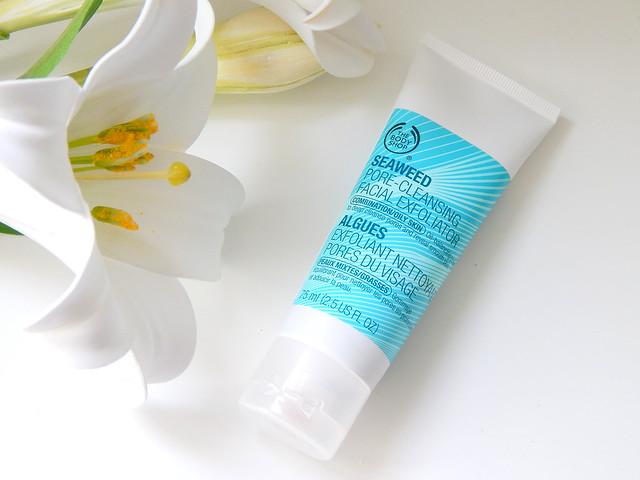 The Body Shop Seaweed Pore Cleansing Facial Exfoliator