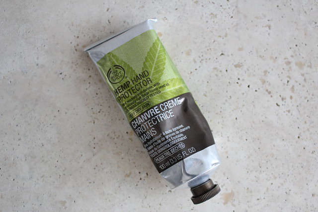 Body Shop Hemp Hand Protector review