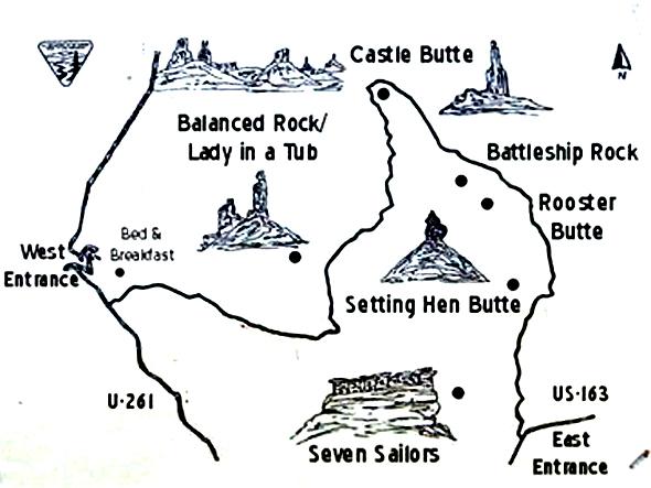 Mapa Valle de los Dioses en Utah Valle de los Dioses en Mexican Hat, Utah - 13925380835 c629a0e48f o - Valle de los Dioses en Mexican Hat, Utah