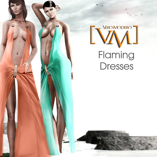 [VM] VERO MODERO  Flaming Dresses