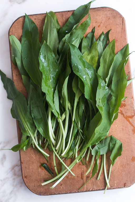 Ramp/Wild Garlic pasta