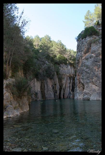Río Mijares en Fuente de los Baños