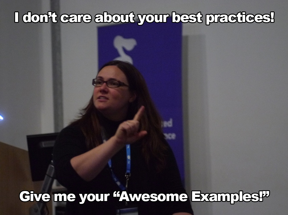 Leigh Loves Awesome Examples