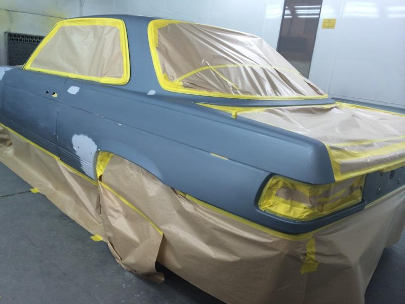450SLC Repaint part 2