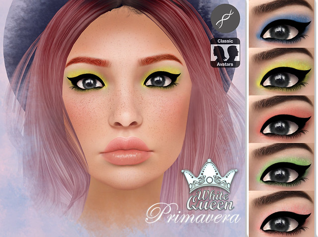 ::White Queen:: primavera eyeshadow - genesis