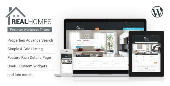 Real Homes v2.5.6 - WordPress Real Estate Theme