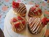 Filled vanilla hearts homemade - Gefüllte Vanille-Herzen hausgemacht