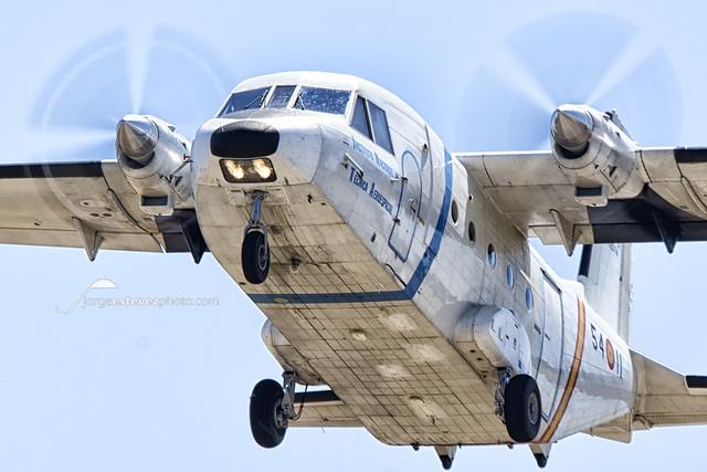C212 Aviocar - Instituto Nacional Técnica Aerospacial