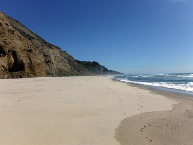 Footprints in the Sand, Fujifilm FinePix XP100