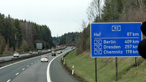 Deutschland der Weg von Hof nach Berlin Dresden Chemnitz war doch ein anderes Unterfangen noch 3629