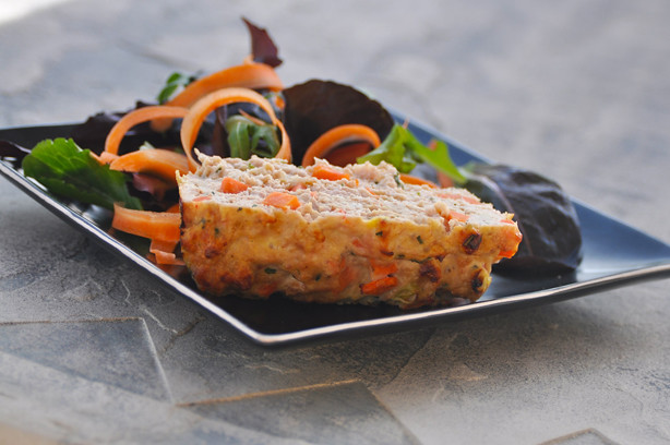 Chicken Meatloaf with Carrots