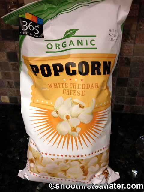 365 organic white cheese popcorn