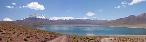 Miscanti Lagoon panorama