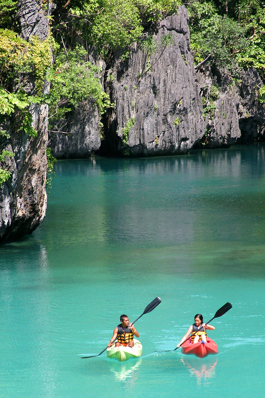 02. El Nido Resorts Activities - Kayak in the Small Lagoon